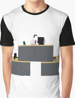 Quad Desk Graphic T-Shirt