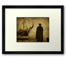 Time to leave Framed Print