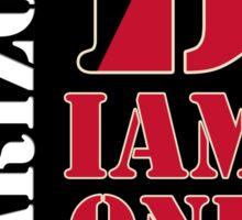 Arizona Diamondbacks typo logo Sticker
