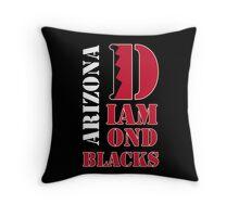 Arizona Diamondbacks typo logo Throw Pillow