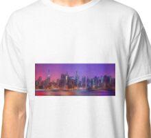 New York Skyline - digital abstract Classic T-Shirt