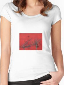 Trees are Hot Women's Fitted Scoop T-Shirt