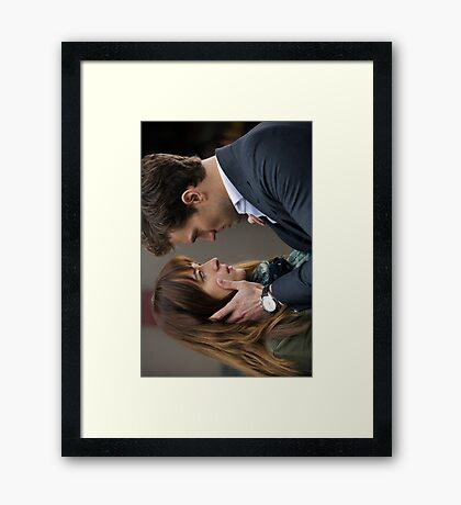 Fifty Shades of Grey Framed Print