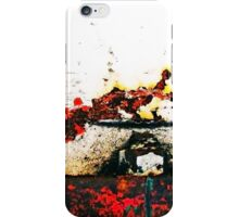 The decay of our world iPhone Case/Skin