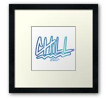 """Chill"" by Horus Framed Print"