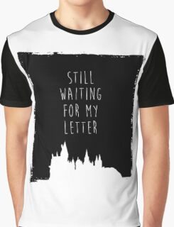Hogwarts Letter Graphic T-Shirt