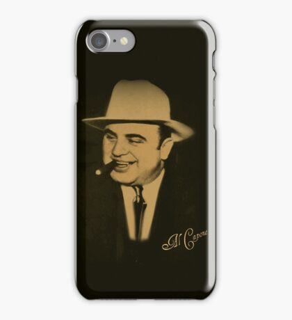 ˜` AL CAPONE˜`TEE SHIRTS,PILLOWS,TOTE BAG,JOURNAL,VARIOUS APPAREL iPhone Case/Skin