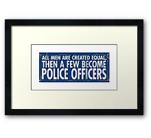 Few Men Framed Print