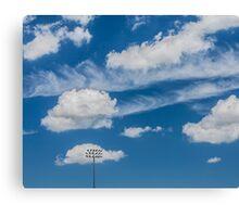 Ballpark Sky Canvas Print