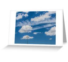 Ballpark Sky Greeting Card
