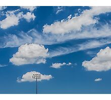 Ballpark Sky Photographic Print