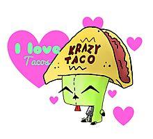 Gir Loves Tacos Photographic Print