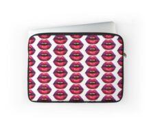 Watercolour Lips - Rest Is Drag Logo Laptop Sleeve