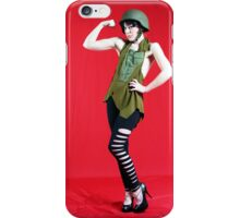 MIlitary Girl iPhone Case/Skin