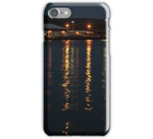 Hobart harbour lights iPhone Case/Skin