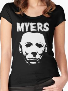 Michaels just another misfit Women's Fitted Scoop T-Shirt