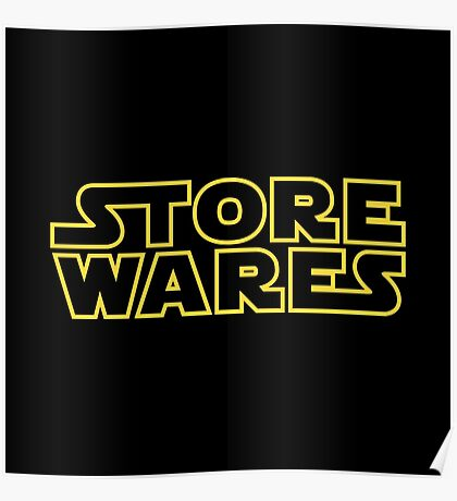 Store Wares Poster