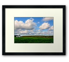 Alone in Mabou Ridge, Cape Breton Framed Print