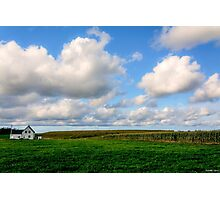 Alone in Mabou Ridge, Cape Breton Photographic Print