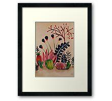 Cacti 2 Framed Print