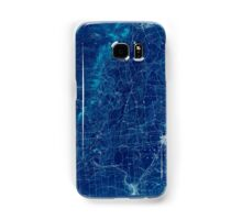 New York NY Saratoga 148431 1902 62500 Inverted Samsung Galaxy Case/Skin