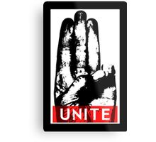 Unite Metal Print