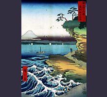 Utagawa Hiroshige The Hoda Coast Unisex T-Shirt