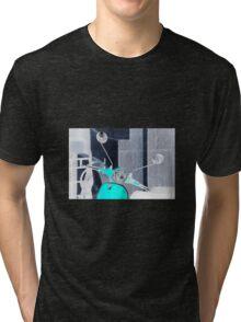 Negative Vespa Tri-blend T-Shirt