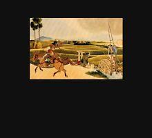 'Samurai Riding Horses' by Katsushika Hokusai (Reproduction) Unisex T-Shirt