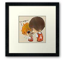 Chibi 6 Haikyuu!! Anime Framed Print