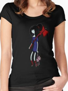 Marceline with Hambo and Guitar Women's Fitted Scoop T-Shirt