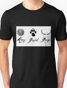 Moony, Padfoot and Prongs Unisex T-Shirt