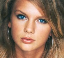 Teenage Taylor Swift - Vintage Sticker