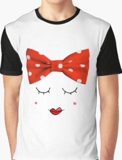 Miss. Red Graphic T-Shirt
