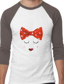 Miss. Red Men's Baseball ¾ T-Shirt