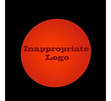 Inappropriate Logo Photographic Print