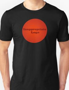 Inappropriate Logo Unisex T-Shirt