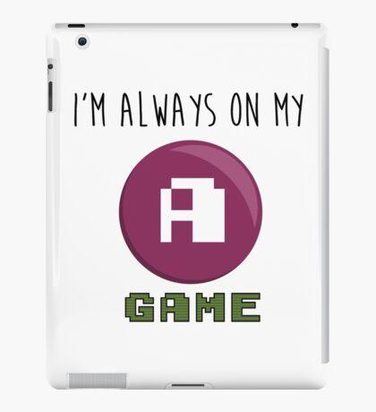 A GAME iPad Case/Skin