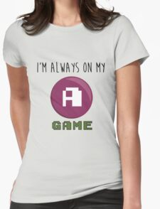 A GAME Womens Fitted T-Shirt