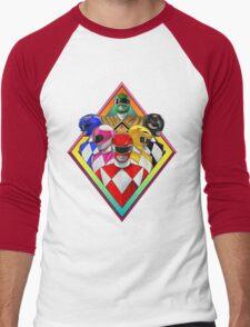 power rangers 2016 Men's Baseball ¾ T-Shirt