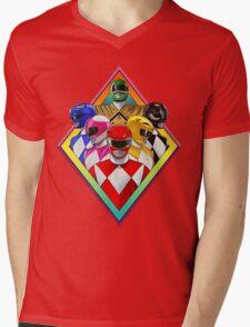 power rangers 2016 Mens V-Neck T-Shirt