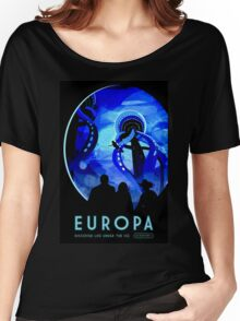 Visions of the future- Europa Women's Relaxed Fit T-Shirt