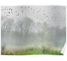 Mist on the Marsh Poster