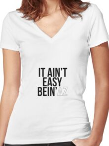 my pcs motto Women's Fitted V-Neck T-Shirt