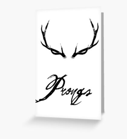 Prongs Greeting Card