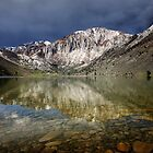 Convict Lake and Laurel Mountain. by Alex Preiss