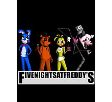 Five nights at Freddy's Toys Photographic Print