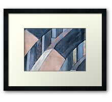 210 Arches Framed Print
