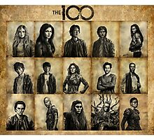 The 100 poster 1 Photographic Print
