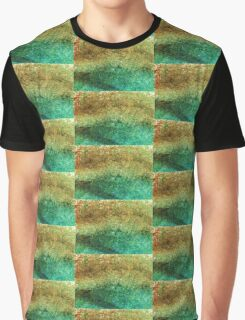 Forest At The Edge Of The Pond in Oil Pastel Graphic T-Shirt